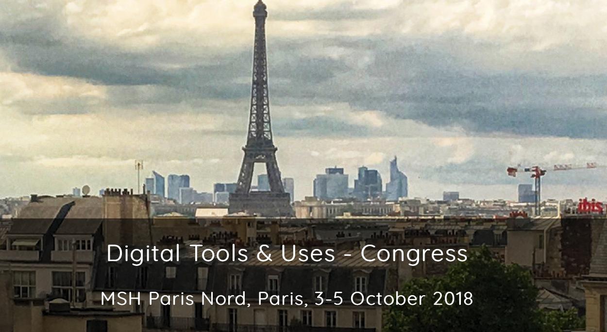 Congrès, les outils numériques et leurs usages