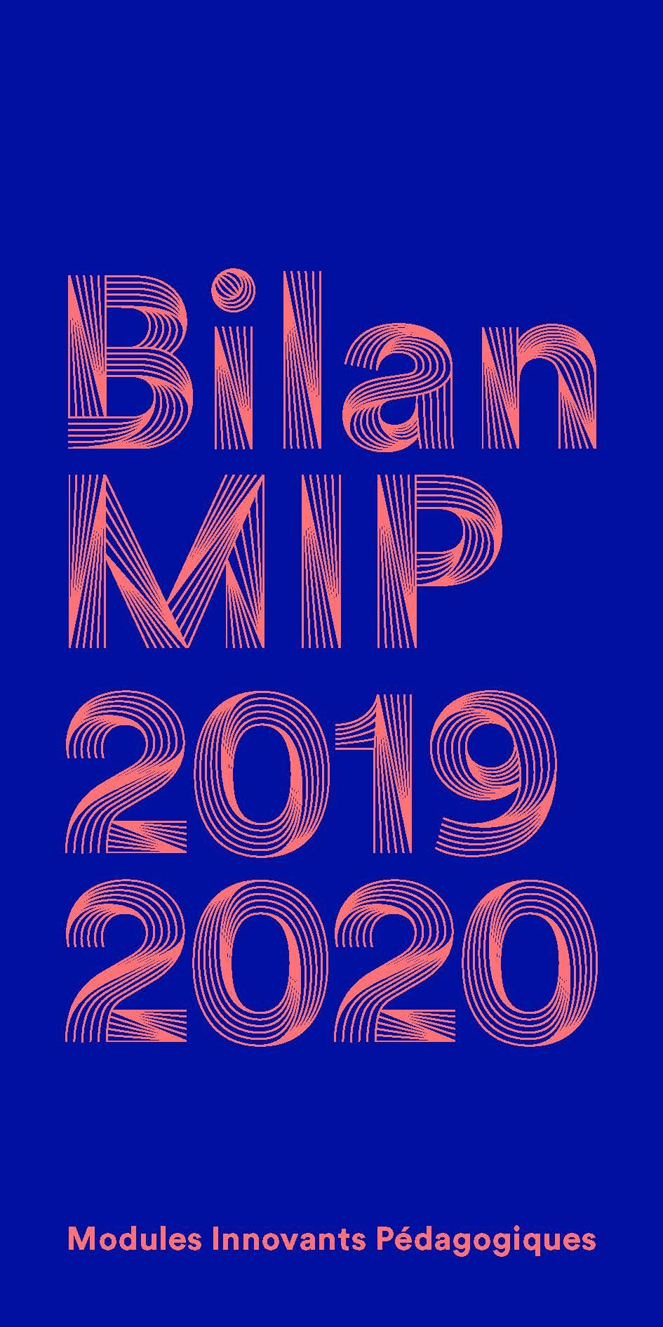 Bilan des modules innovants pédagogiques 2019-2020