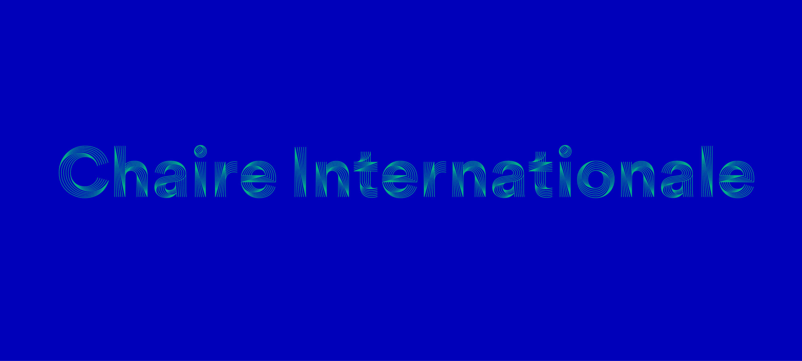 Chaires internationales 2021-2022