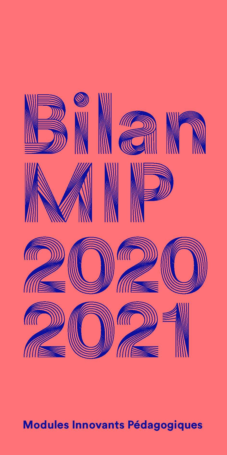 Bilan Modules Innovants Pédagogiques 2020-2021